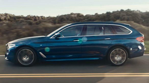 BMW 5シリーズツーリング画像